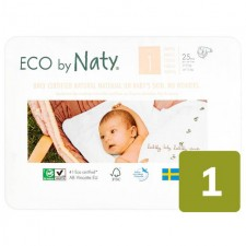 Naty Eco Nappies Size 1 25 per pack