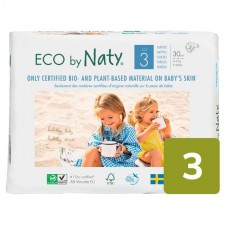 Naty Eco Nappies Size 3 X 30 per pack