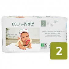 Naty Eco Nappies Size 2 X 33 per pack