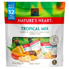Natures Heart Tropical Mix Multipack 12 x30g