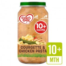 Cow And Gate 10 Months Courgette and Chicken Pasta Jar 250g