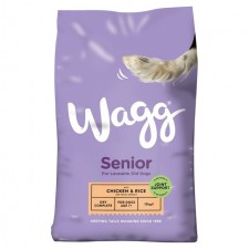 Wagg Complete Senior Dry Dog Food 15kg