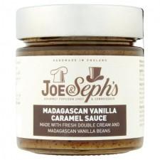 Joe and Sephs Madagascan Vanilla Caramel Sauce 230g