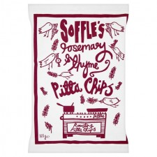 Soffles Pitta Chips Rosemary and Thyme Share Bag 165g