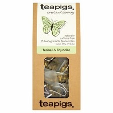 Teapigs Fennel and Liquorice 15 per pack