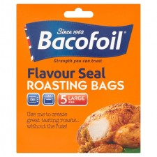 Bacofoil Flavour Seal Roasting Bags 5 per pack