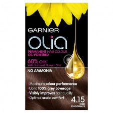 Garnier Olia Permanent Hair Colour 4.15 Iced Chocolate