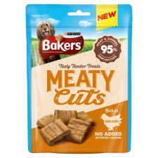 Bakers Meaty Cuts Chicken 70g