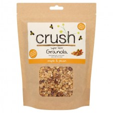 Crush Super Hero Maple and Pecan Granola 500g