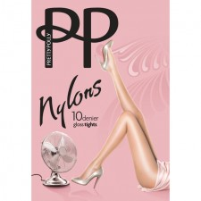 Pretty Polly 10 Denier Tights Black S-M