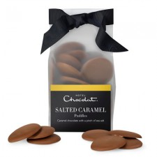 Hotel Chocolat Salted Caramel Chocolate Puddles 110g x 3 (OR)