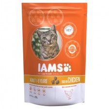 Iams Adult Dry Cat Food Chicken 800g
