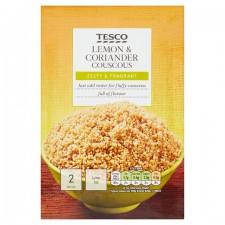 Tesco Coriander And Lemon Cous Cous 110g