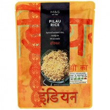 Marks and Spencer Microwaveable Pilau Rice 250g pouch