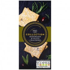 Marks and Spencer Collection Rosemary and Olive Crackers 130g