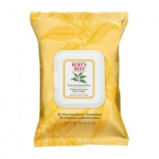 Burts Bees Facial Cleansing Towelettes with White Tea Extract 30s