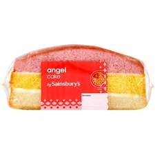 Sainsburys Angel Cake 250g