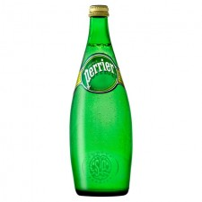 Perrier Sparkling Mineral Water 750ml Glass Bottle
