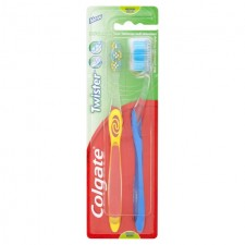 Colgate Twister  Medium Toothbrush 2 Pack