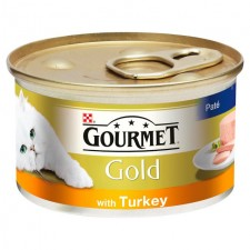Gourmet Gold Cat Food Pate with Turkey 85g