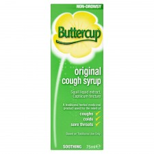 Buttercup Cough Syrup 75ml
