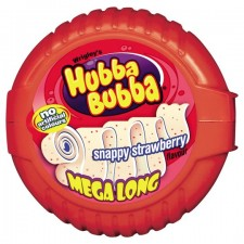 Retail Pack Wrigleys Hubba Bubba Bubble Tape 12x56g