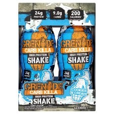 Grenade Carb Killa Cookie And Cream Shake 4 X 330Ml