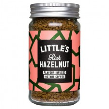 Littles Rich Hazelnut Flavour Infused Instant Coffee 50g