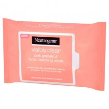 Neutrogena Visibly Clear Pink Grapefruit Wipes 25 per pack