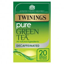 Twinings Pure Green Decaffeinated 20 Teabags