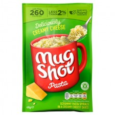 Mug Shot Creamy Cheese Pasta 68g