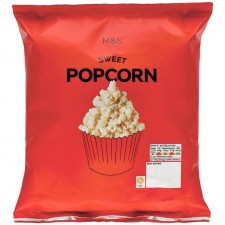 Marks and Spencer Sweet Popcorn 80g
