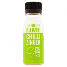 James White Organic Lime Chilli Zinger Shot 70ml