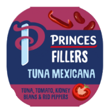Princes Tuna Fillers Mexican 100G
