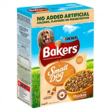 Bakers Small Dog Chicken and Veg Dry Food 1kg