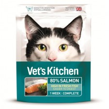 Vets Kitchen Ultra Fresh Cat Food Salmon 385g