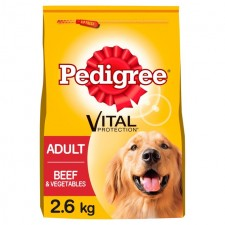 Pedigree Dog Complete Beef and Vegetable 2.6kg