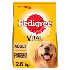 Pedigree Dog Complete Chicken and Vegetables 2.6kg