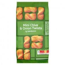 Sainsburys Chive and Onion Mini Twists 125g
