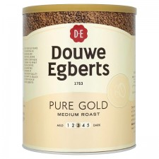 Catering Size Douwe Egberts Medium Roast Pure Gold Freeze Dried Instant Coffee 750g