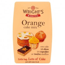 Wrights Orange Cake Mix 500g