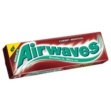 Wrigleys Airwaves Cherry Menthol 10 Pieces