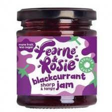 Fearne and Rosie Reduced Sugar Blackcurrant Jam 227g
