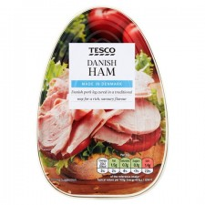Tesco Danish Ham Pear Shaped 340g
