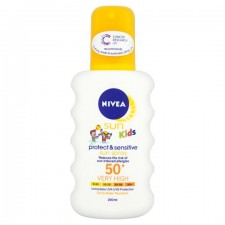 Nivea Sun Sensitive Kids Spray SPF50 200ml