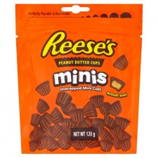 Reeses Mini Peanut Butter Cups Pouch 90g