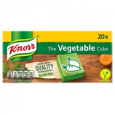 Knorr 20 Vegetable Stock Cubes