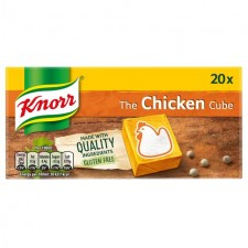 Knorr 20 Chicken Stock Cubes