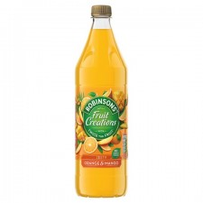 Robinsons Fruit Creations No Added Sugar Orange And Mango Drink 1L
