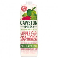 Cawston Press Apple and Rhubarb 1L